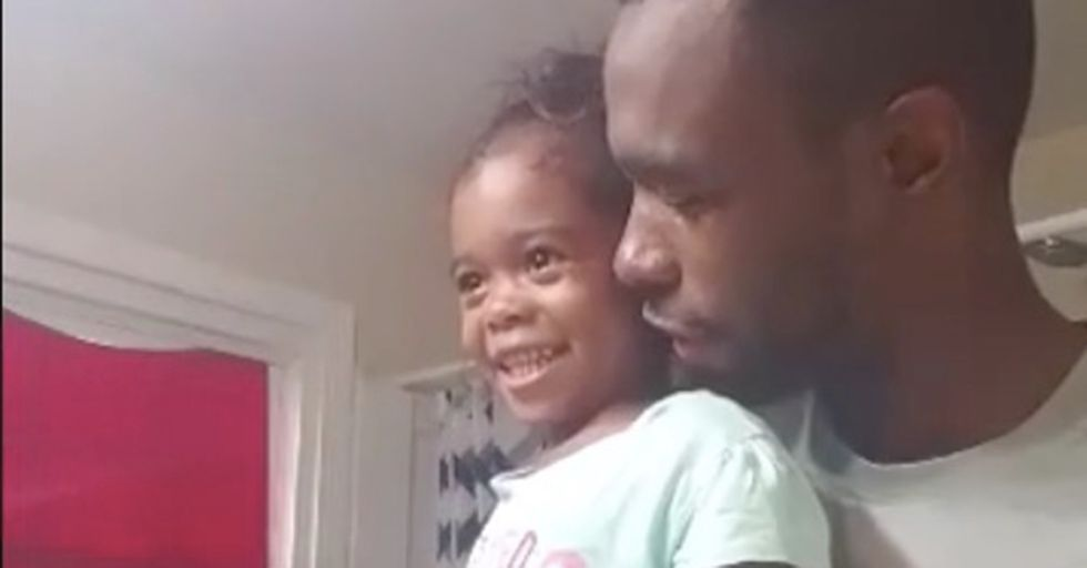 This Father and Daughter's Beautiful Morning Mantra Is Attracting Attention From All Over The World