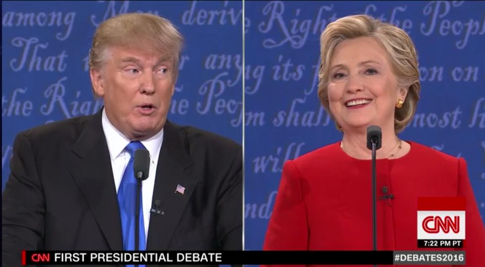 Debate Descends Into Exchange Over Clinton's Looks
