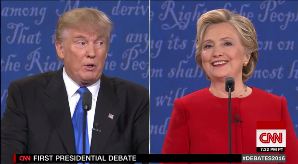 Debate Descends Into Exchange Over Clinton's Looks