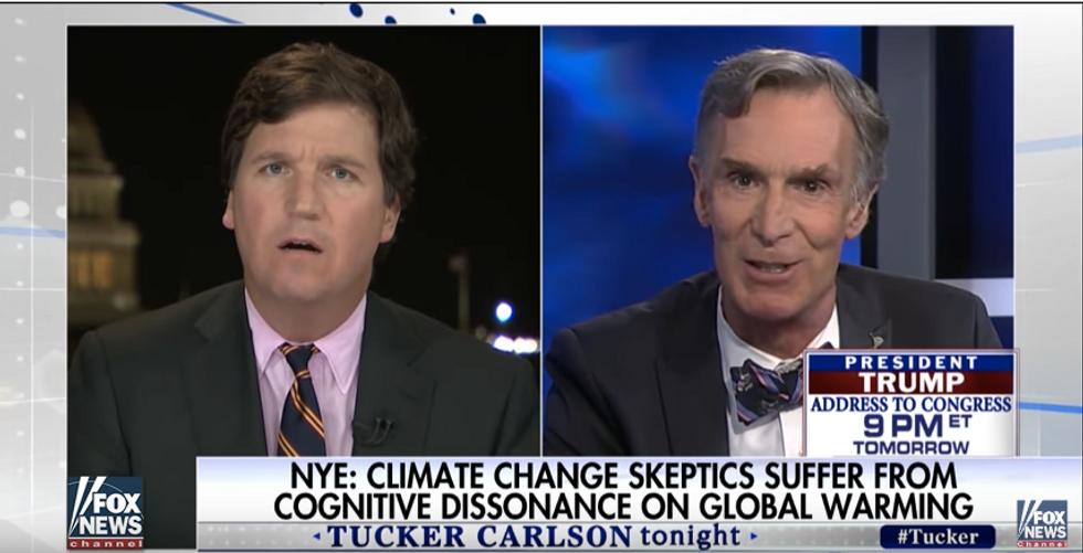 Fox News Host Tries To Take On Bill Nye In Scientific Debate