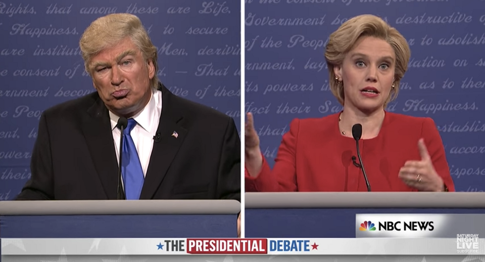 SNL's Debate Sketch Put This Election Right Where It Belongs