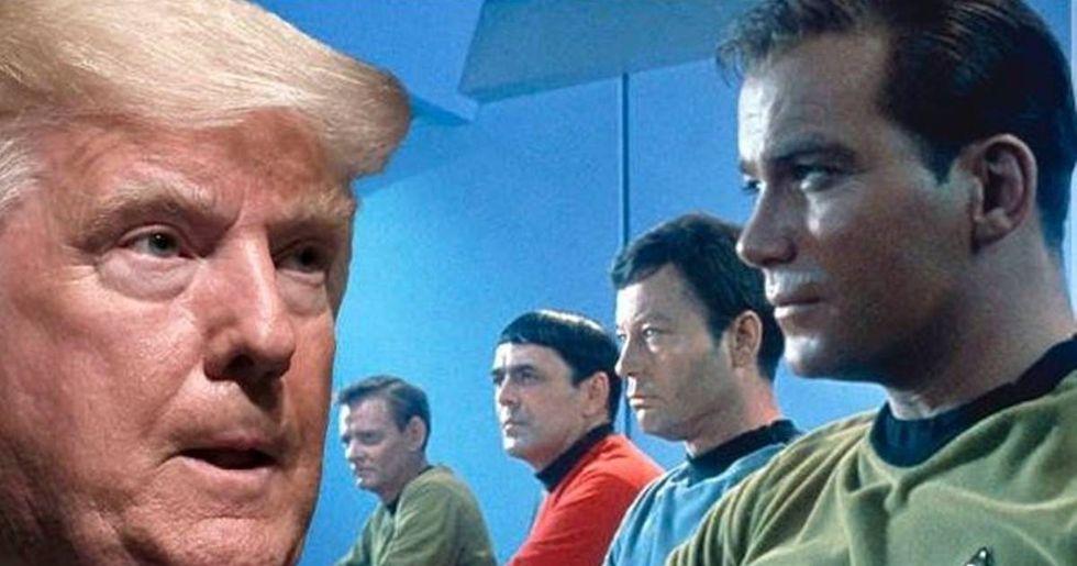 The 'Star Trek' Universe Boldly Goes Against Trump