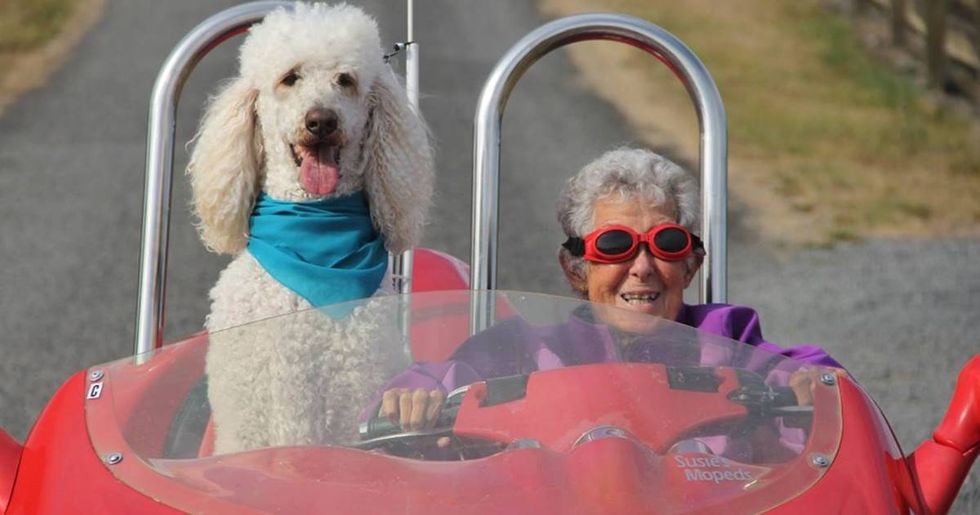 After Refusing Cancer Treatment To Travel, Miss Norma's Beautiful Adventure Ends