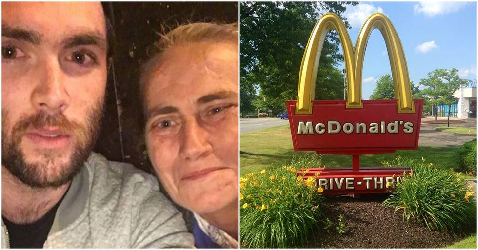 Cardiff Man Helps Homeless Women After They Were Refused Water At McDonald's