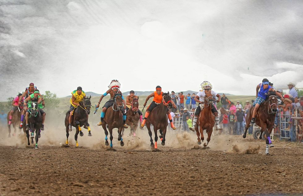 You've Never Seen A Horse Race Quite Like This