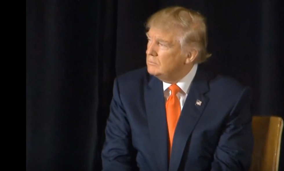 Trump Appears To Say Veterans With PTSD Aren't 'Strong'
