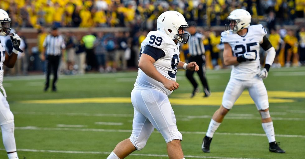 Penn State Kicker Sought Treatment For An Eating Disorder Earlier This Year