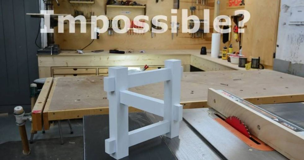Mechanical Engineer Recreates This 'Impossible' Optical Illusion