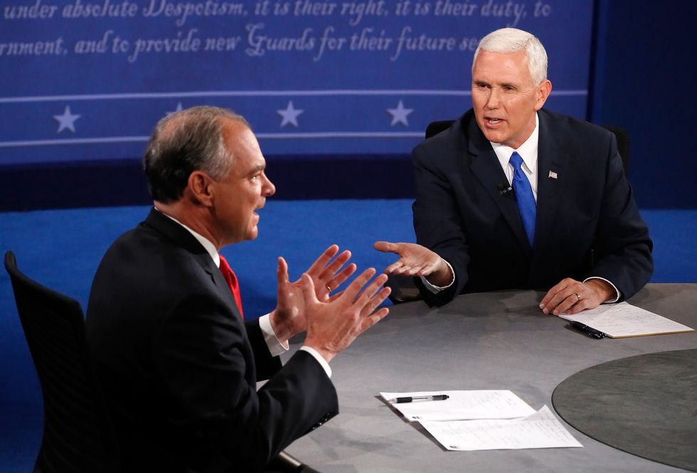 These 2 Quotes From the VP DebateTell UsEverything We Need To Know About Kaine And Pence