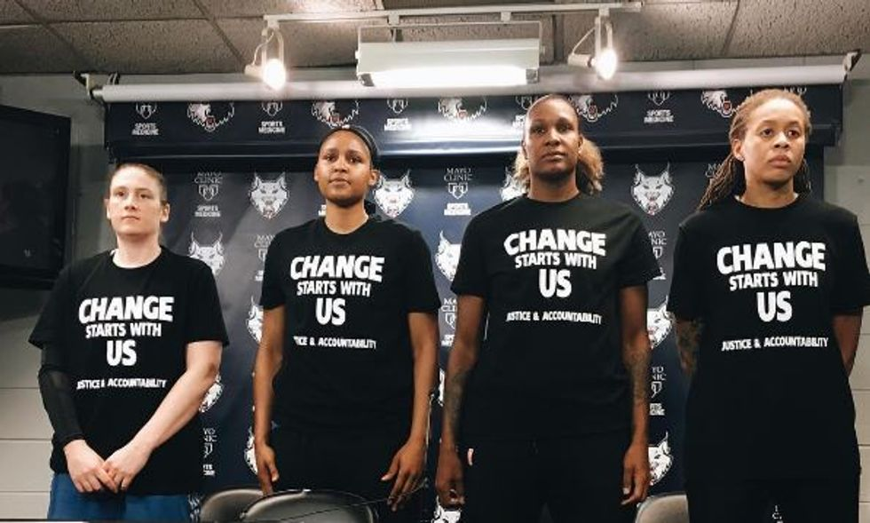 The WNBA's Best TeamIs A Social Justice Powerhouse