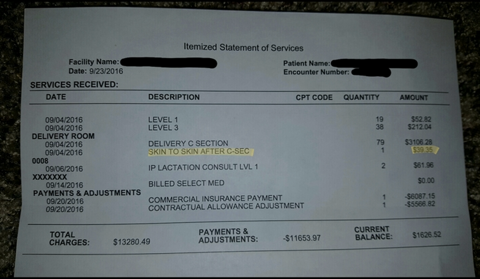 Hospital Charges Mother $40 To Hold Her Own Baby After Birth