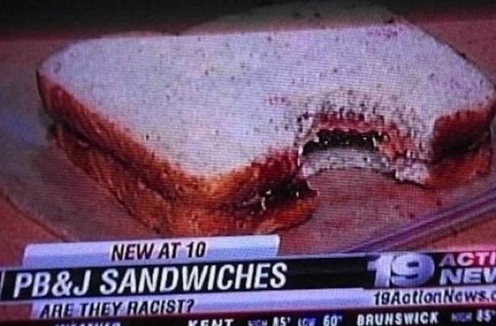 What Goes into A Racist Sandwich?