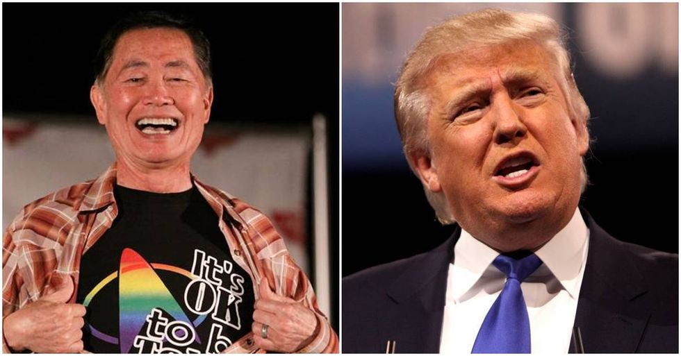 George Takei's Perfect Response To Trump's 'Blue-Collar Worker' Comment