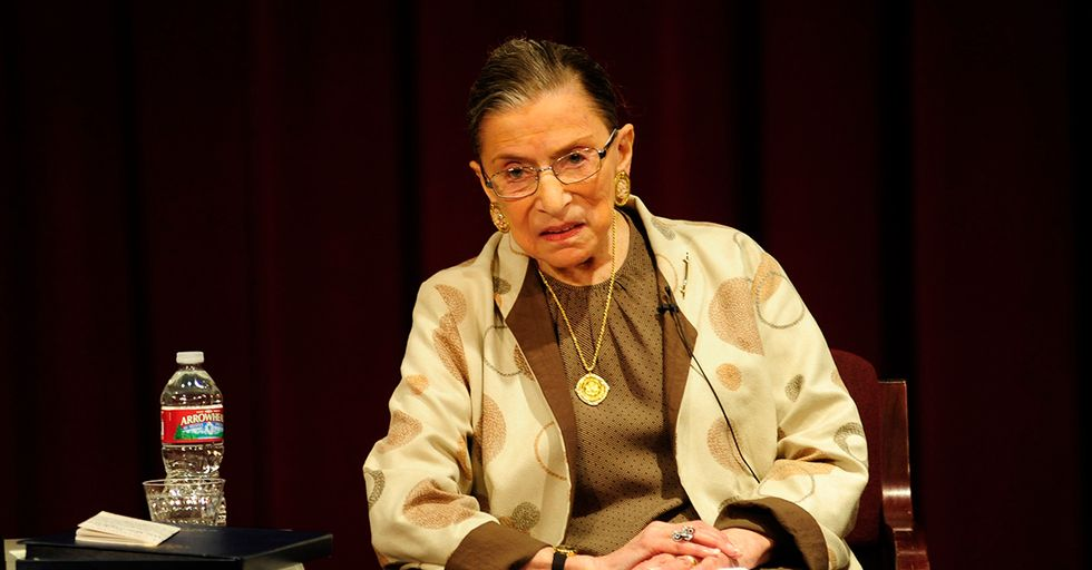 Ruth Bader Ginsburg Weighs In On NFL Anthem Protests, Calling Them 'Dumb And Disrespectful'