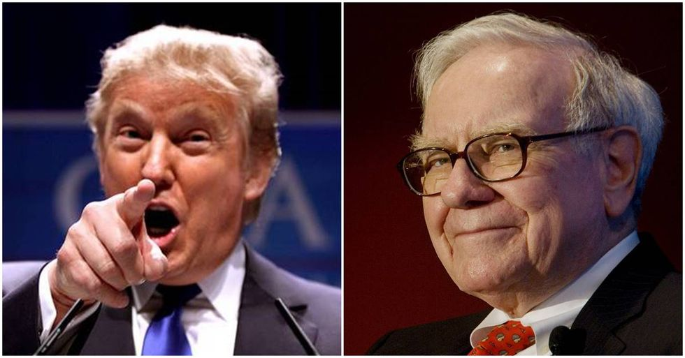 Warren Buffett Fights Back After Trump's False Tax Allegations