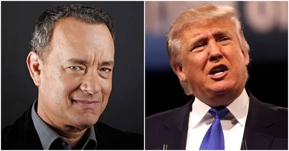 Tom Hanks 'Offended' By Donald Trump's Comments About Women