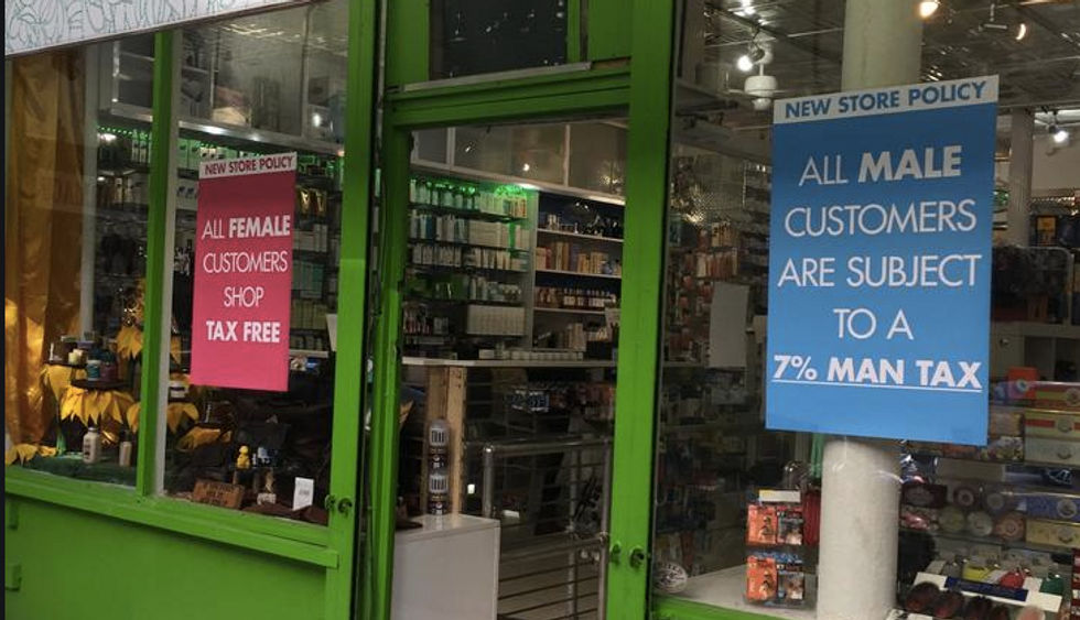 Pharmacy Adds Genius 7 Percent 'Man Tax' To Products For The Best Reason