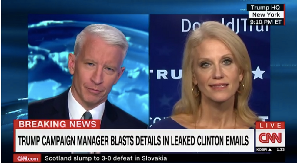 Trump Campaign Manager Gets Stumped On Air When Fact Checked Over Donald's Lawsuits
