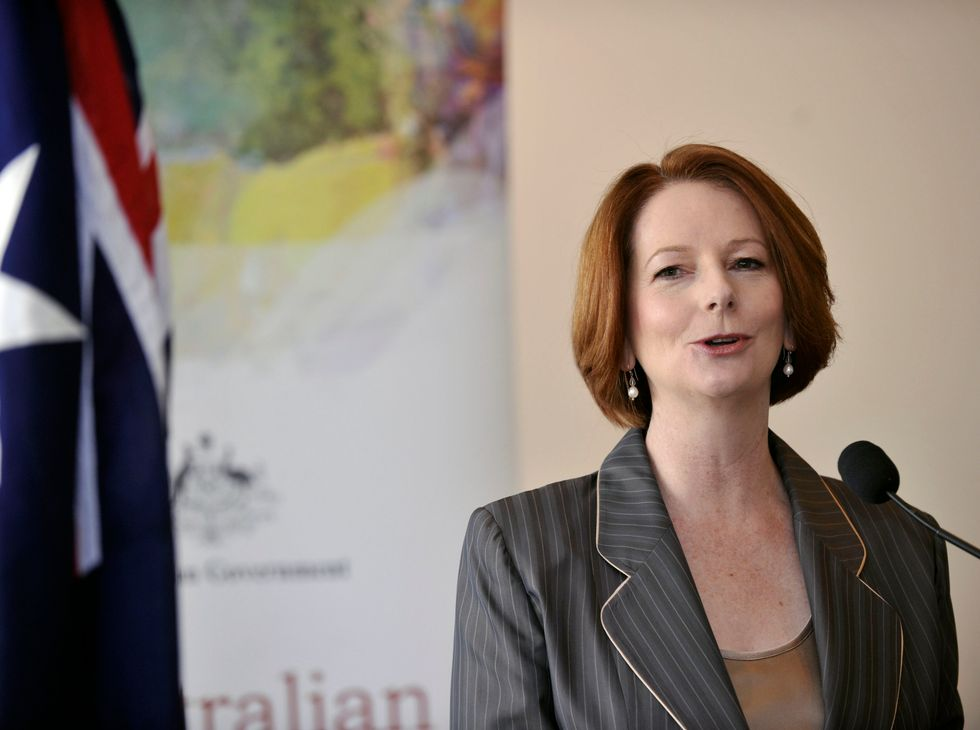 Australia's First Female Prime Minister Has A Stern Warning For Hillary Clinton