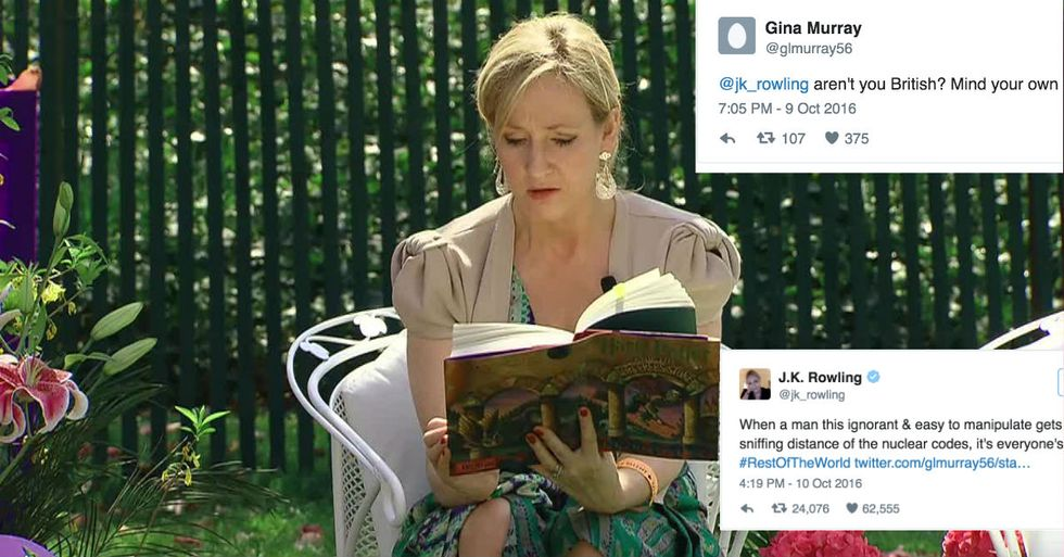 J.K. Rowling Closes The Book On Trump With One Magical Tweet