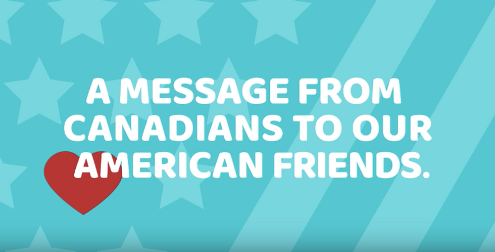 Canada Tries To Cheer America Up In Touching New Video