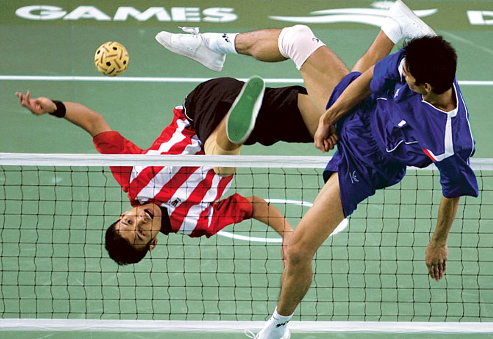 Brace Yourself For Bangkok's Most Exciting Sport