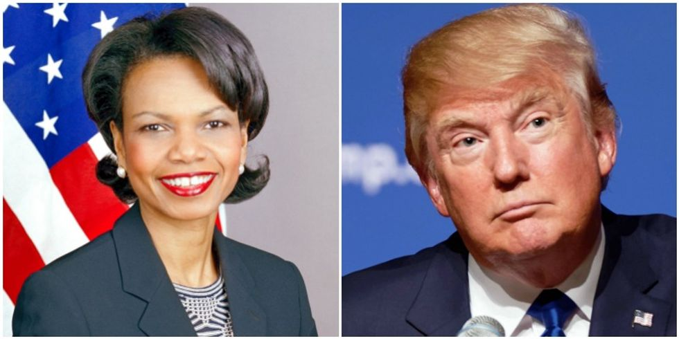"""Condoleezza Rice Gives The Best Response To Donald Trump Wishing She Was A """"Bitch"""""""