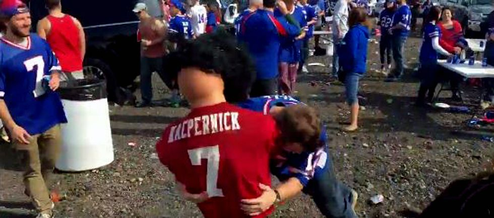Buffalo Bills Fans Find New Ways To Hate On Colin Kaepernick