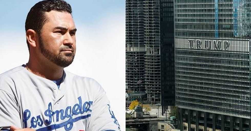 Dodgers' Slugger Adrian Gonzalez Refused To Stay At Trump's Chicago Hotel
