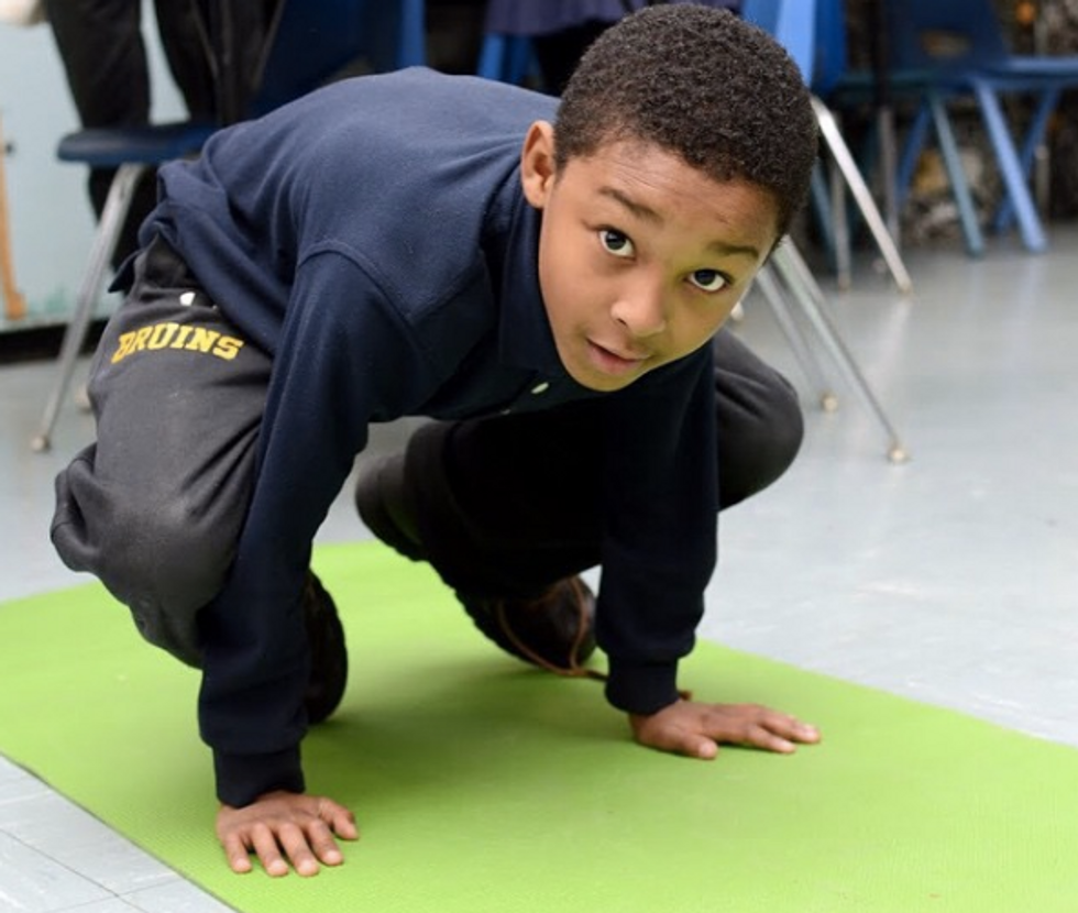 Forget Detention, What Kids Really Need Is Yoga