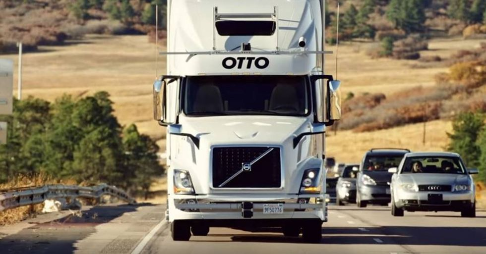 Self-Driving Truck Completes A 120-Mile Beer Delivery