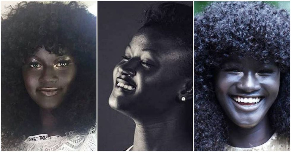 Senegalese Model Finds Success By Embracing Her Dark Complexion