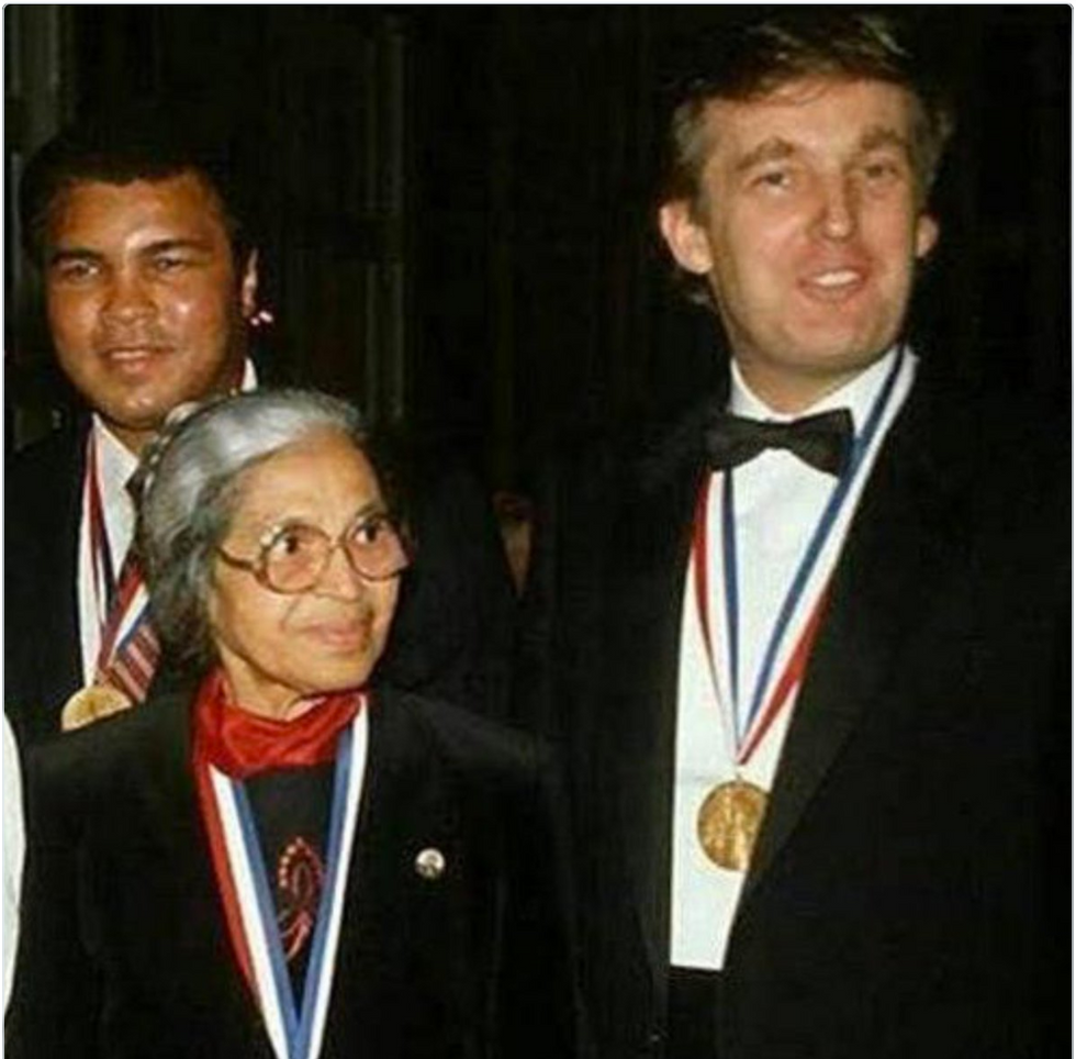 Trump Campaign's Claim He Won A Medal From The NAACP Debunked