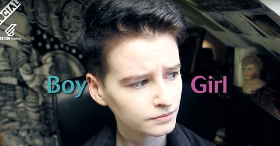 Victor Lockhart Explains What It Means To Be Non Binary