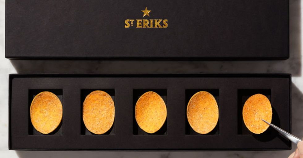 How Much Would You Pay For This Collection Of Just Five 'Perfect' Potato Chips?