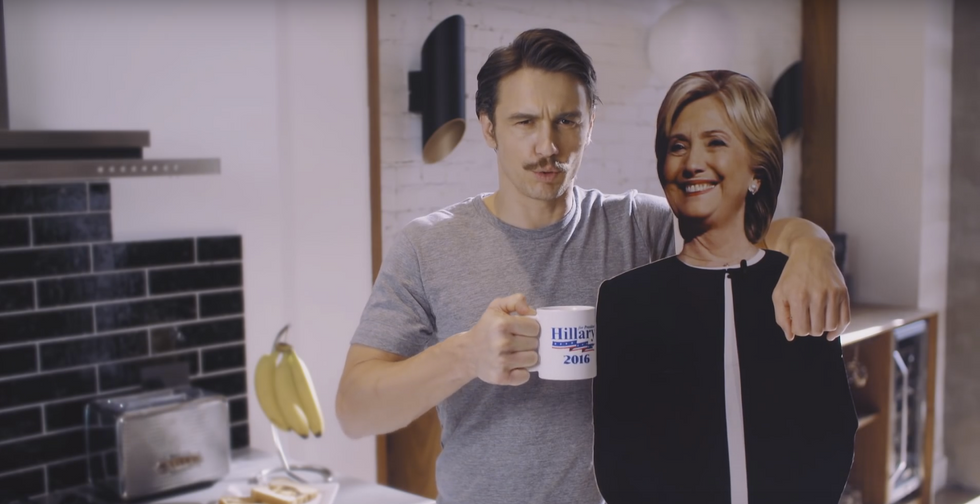 Adele And James Franco Just Gave Hillary Clinton The Best Birthday Presents Ever