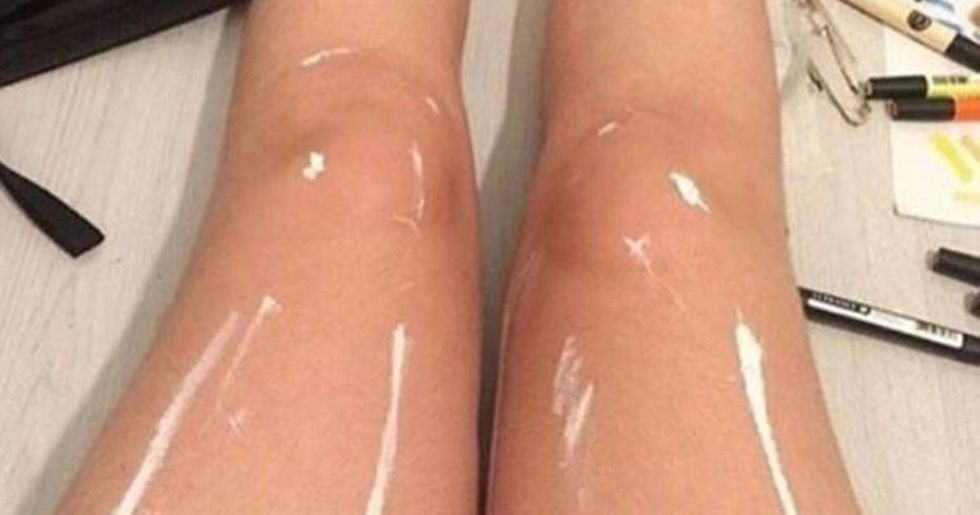 Are These Legs Shiny Or Not?