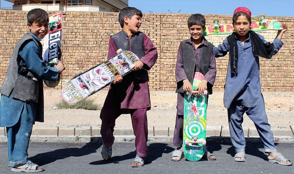 Skateboarding Is Helping Kids Stay Kids A Little Longer In Afghanistan