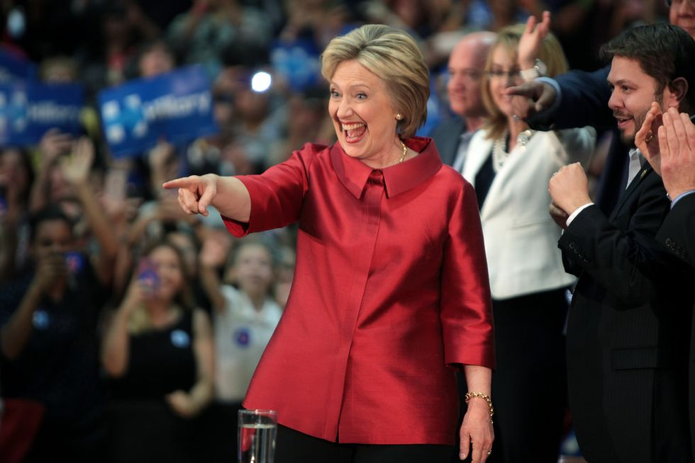 Weird Election Day Weather Could Help Hillary Clinton Win