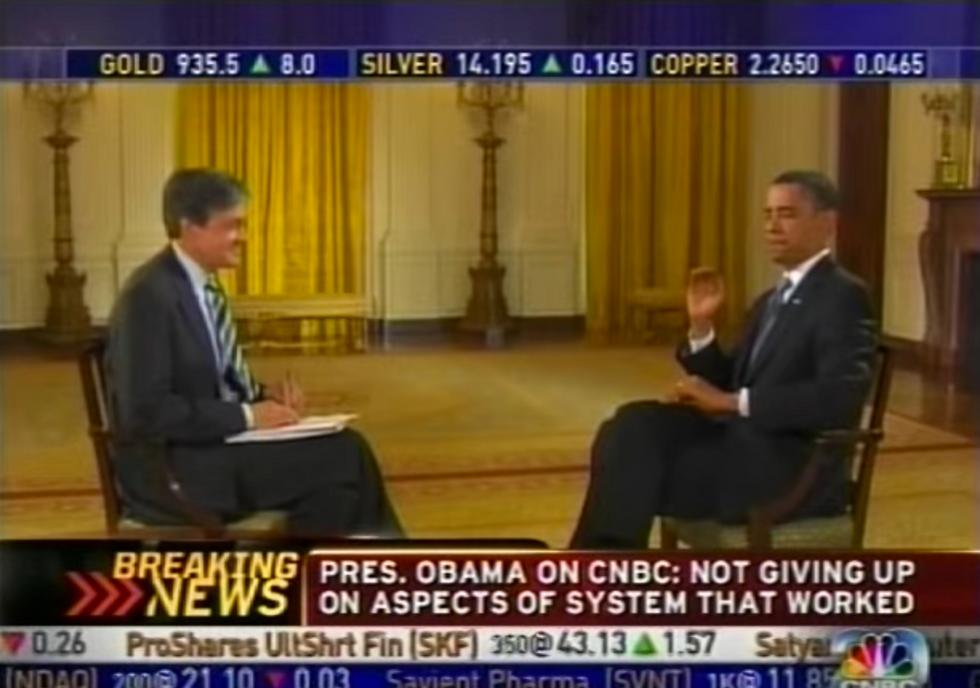 Random Act of Sport: Barack Obama Effortlessly Catches Fly On Live Television