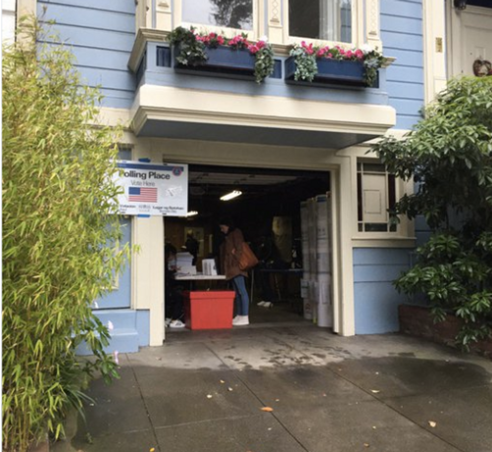 For Many In San Francisco, Home Is Where The Polling Place Is