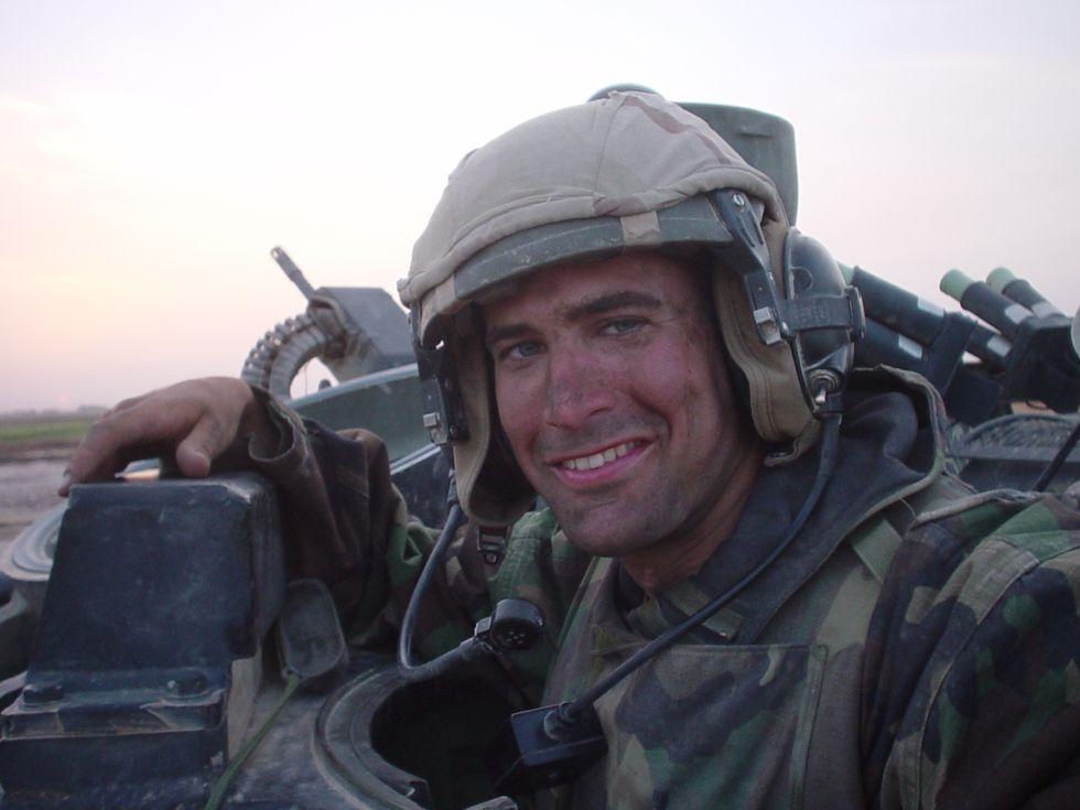 Outspoken Iraq War Veteran-Turned-Congressman On What Scares Him More—Terrorism Or Trump?
