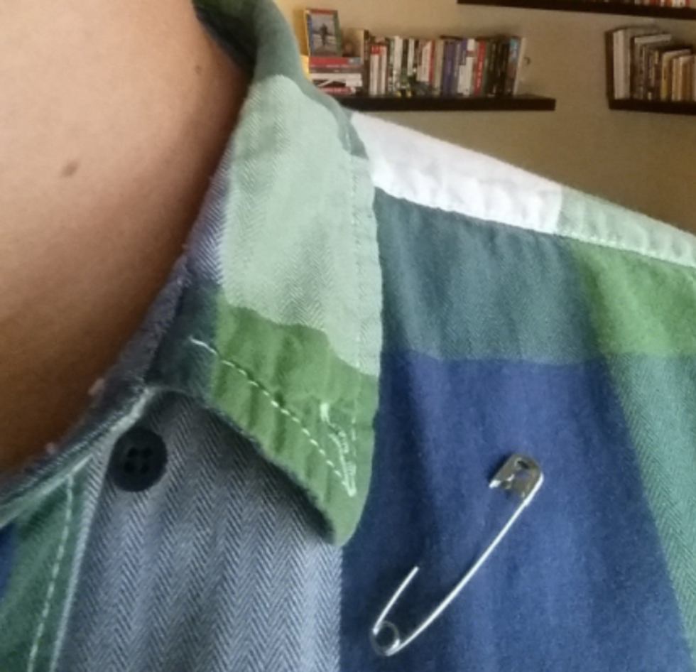 The Powerful Reason Americans Are Wearing Safety Pins