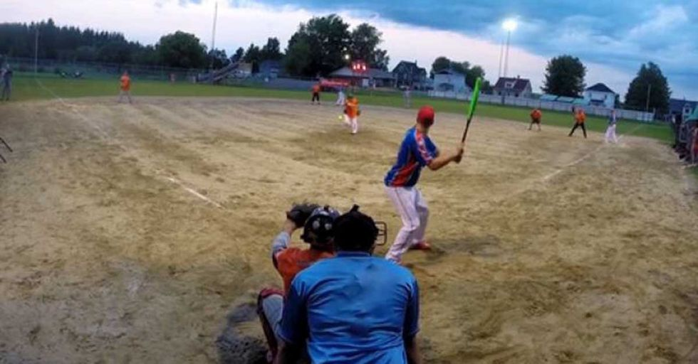 This Beautiful Behind-The-Back Home Run Is As Effortless As It Is Unexpected