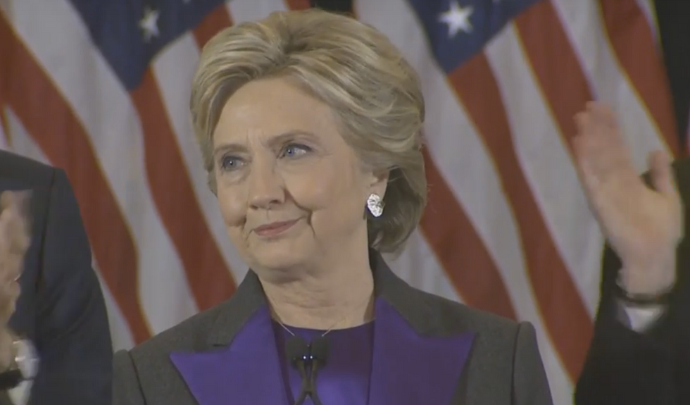 Hillary's Concession Speech Contained This Powerful Advice To Young Girls