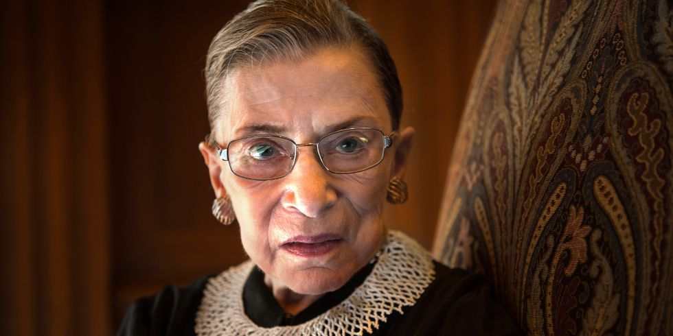 Ruth Bader Ginsburg Just Signaled Her Dissent Toward Trump With A Simple Fashion Statement