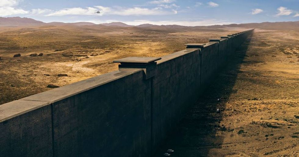 What Trump's 2,000-Mile Wall On The U.S.-Mexico Border Would Actually Look Like