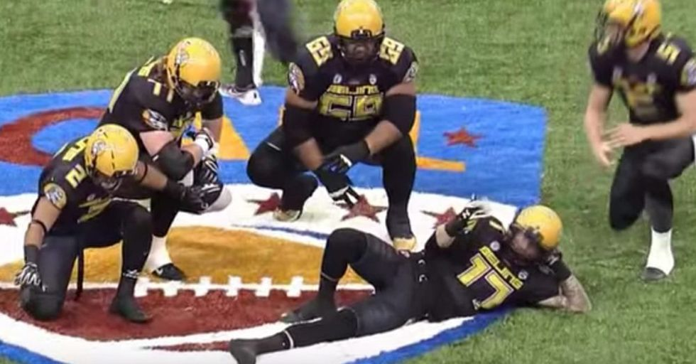 China Has Its Own Football League, And Their Celebrations Put The NFL's To Shame
