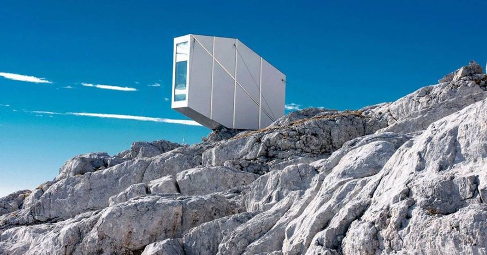 The Kanin Winter Cabin Offers Amazing Views Of Italy And Slovenia