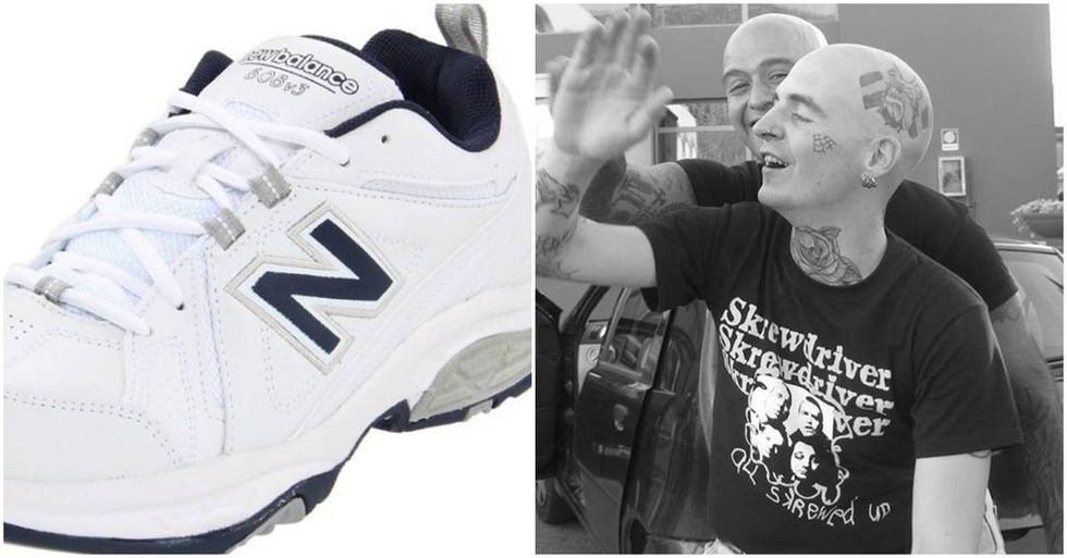 White Supremacist Blogger Urges Followers To Wear New Balance Sneakers